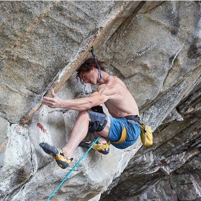 "image: Huge congrats to @adam.ondra for sending his latest project ""Project Hard"" which so happens to be the new and hard to fathom grade of 9c!! So bad ass and inspiring Adam! by chrissharma"