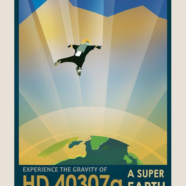 image: NASA's travel posters promote newly discovered planets by shycerulean