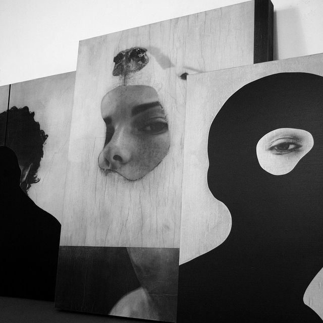 image: three panel works headed to a... by jessedraxler