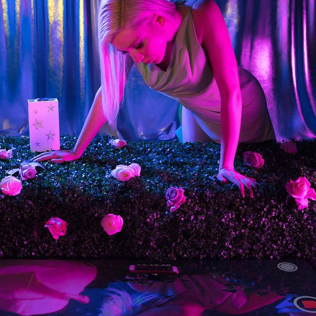 image: 'The Myth of Narcissus' a cautionary tale straddling the nature of self vs. selfie; person vs....Eli Rezkallah X @SignePierce for @marzook_official @plastikstudios...#elirezkallahxsignepierceformarzook by elirezkallah