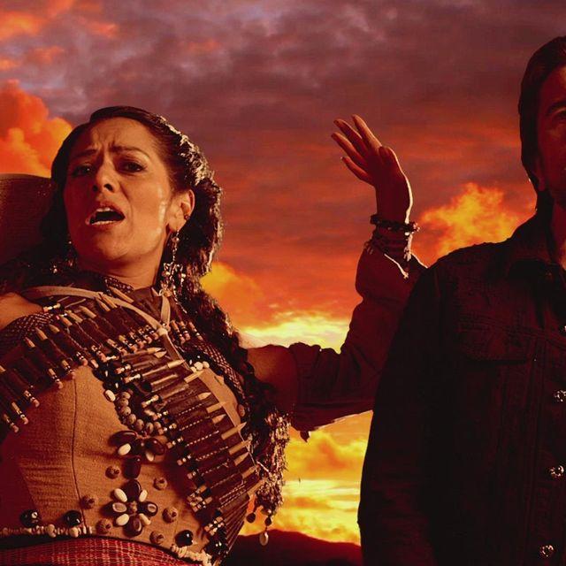 video: Lila Downs - La Patria Madrina ft. Juanes by mar-campdepadrosmartin