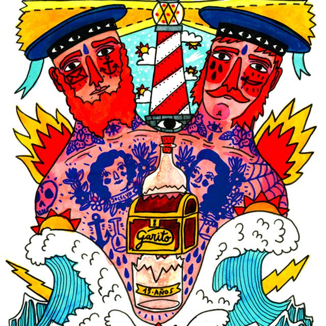 image: Sailor Stories by ricardo cavolo by popastic