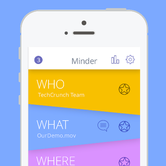 post: New startup : Minder Controls Your Content Location ... by greedygop