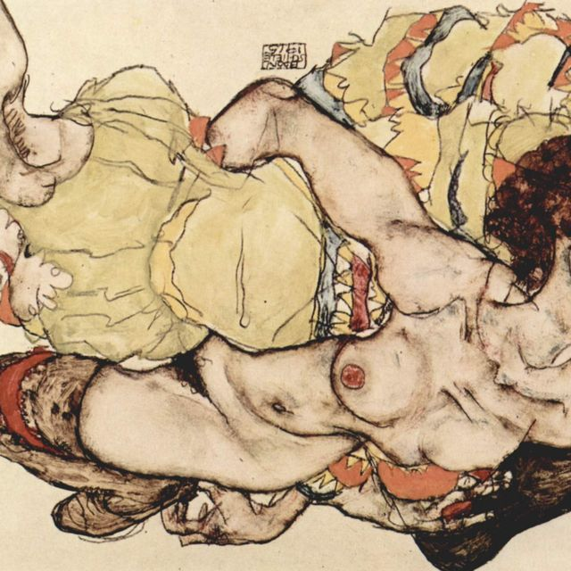 image: Egon Schiele by dinacomm