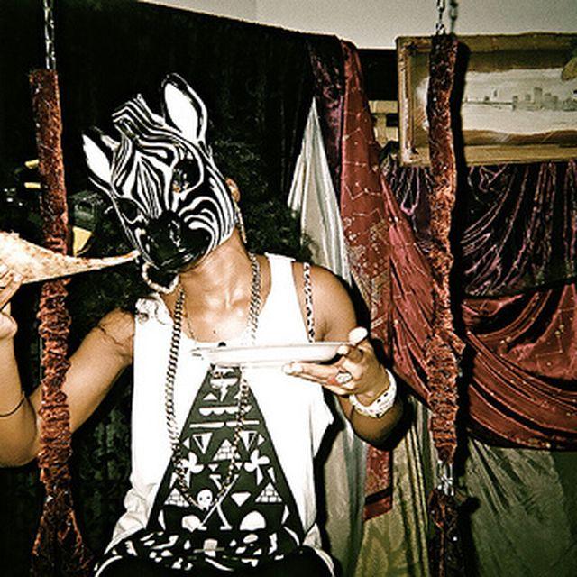 image: zebra mask by ingridfabre