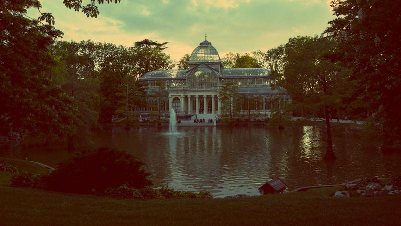 image: palacio de cristal - retiro by srliberal