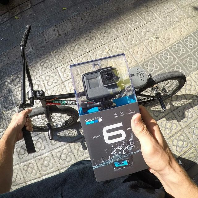 image: new new #GoProHERO6 just came out lets try it! cheeeers @gopro ? #bmx #goproathlete #goprofamily by simobarraco