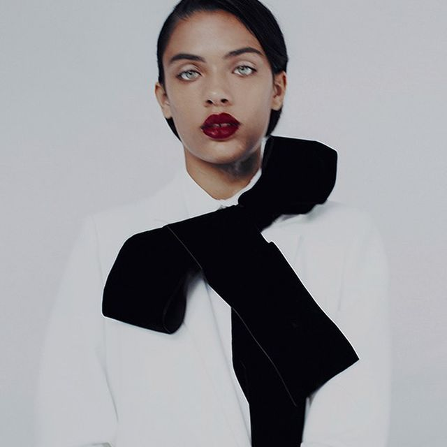 image: Closure. #woman #portrait #velvet #fashioneditorial #azaharafernandez by azahara