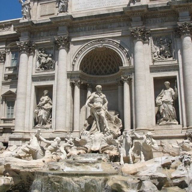 image: rome - trevi fountain by karl