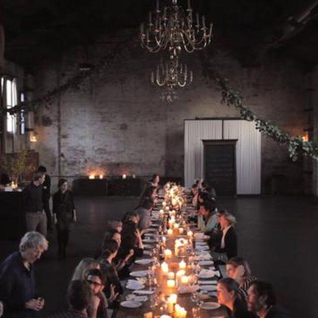 video: Una cena Kinfolk en Brooklyn, New York. by nvm