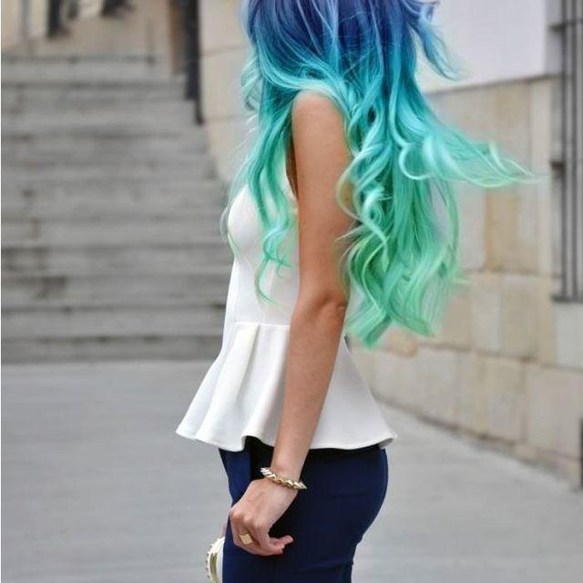 image: Blue hair by mmacia