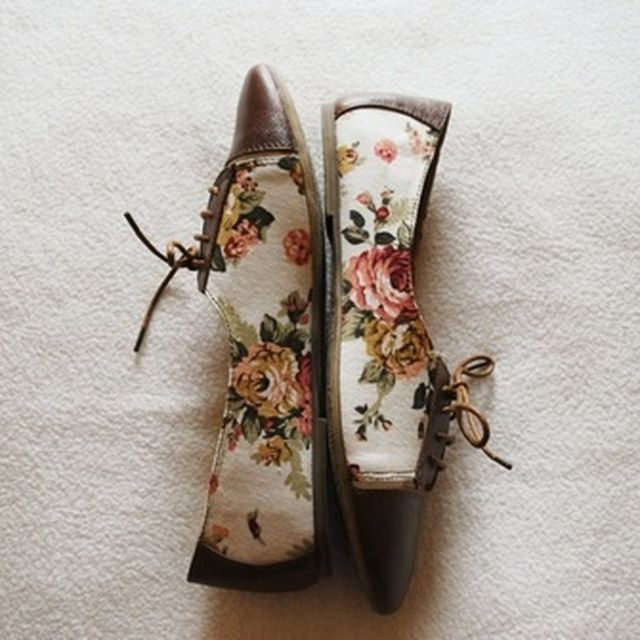image: floral shoes by modernghosts