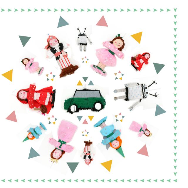image: Piñatas for parties by macakindelan