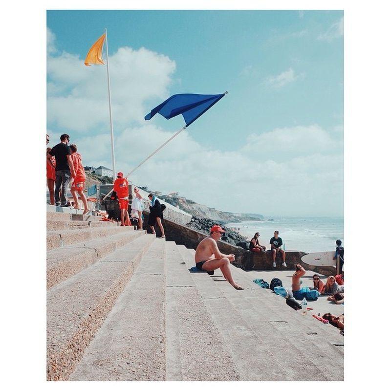 image: La plage, Biarritz, 2014. by duncan_wolfe