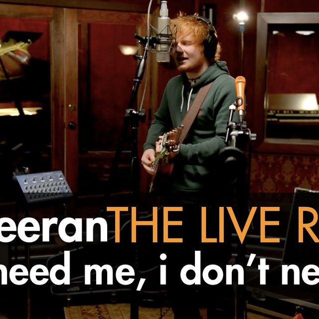 "video: Ed Sheeran - ""You Need Me, I Don't Need You"" by muso_de_la_musica"