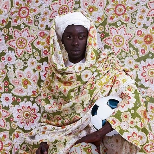image: Centuries-old masters of portraiture and contemporary African lifestyles inspired Omar Victor Diop's 'Project Diaspora.' by saatchigallery