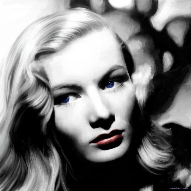 image: Veronica Lake Portrait by gabrielttoro