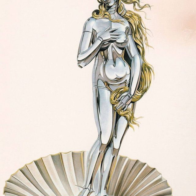 image: Hajime Sorayama, 1983 // #hajimesorayama #artsxdesign by artsxdesign