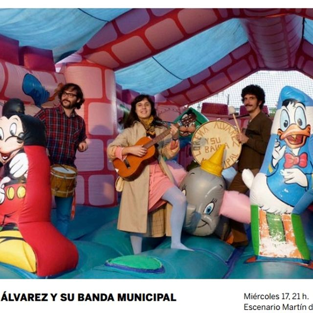 image: lorena álvarez y su banda municipal by rizomafestival