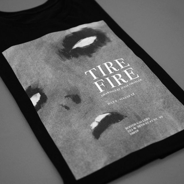 image: Tire Fire commemorative t-shirt - extremely limited - available for a brief time at jessedraxler.bigcartel.com [link in bio] by jessedraxler