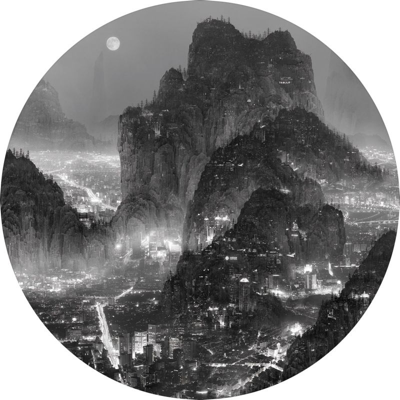 image: Photographic works by Yang Yongliang by diegotoast