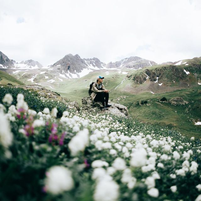 image: Moments of solitude. As summer approaches all I can think about is getting back up into the... by lostintheforrest