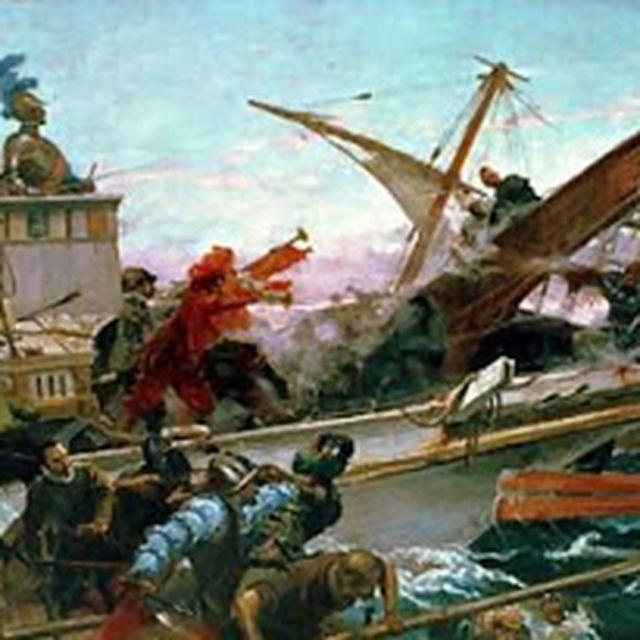image: La Batalla de Lepanto by Juan Luna by jdiaz