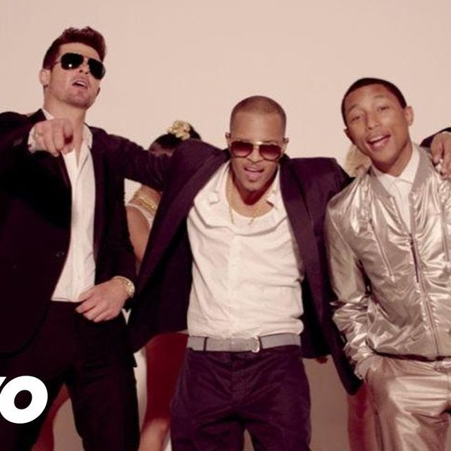video: Robin Thicke - Blurred Lines ft. T.I., Pharrell by leticiamadrid