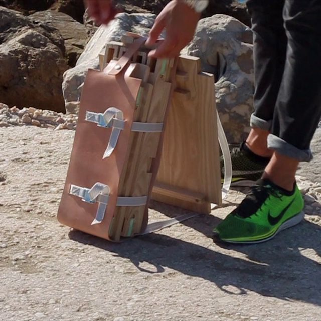 video: Nomadic Chair - Project by Jorge Penadés by haze