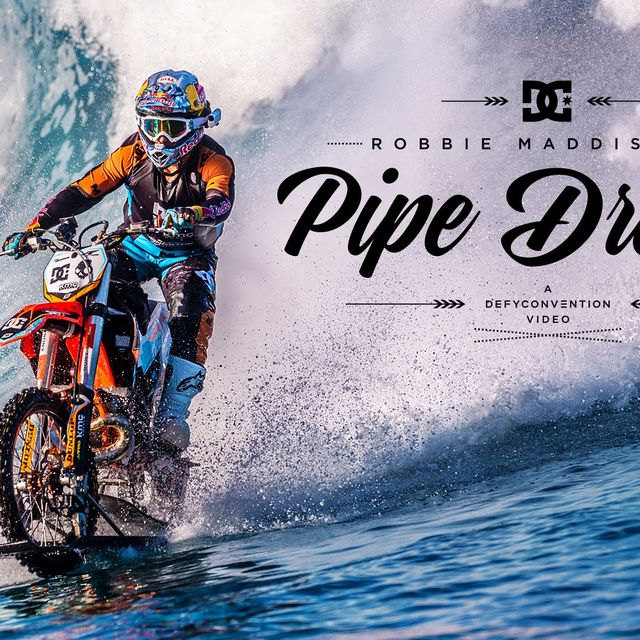 "video: DC SHOES: ROBBIE MADDISON'S ""PIPE DREAM"" by jason"
