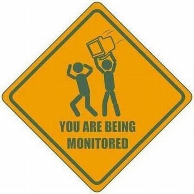 image: You are beign monitored by mmacia
