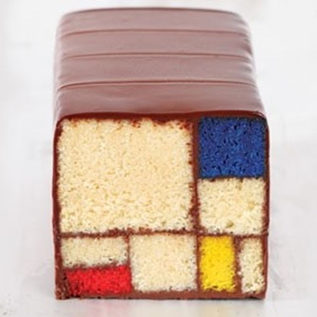 image: Mondrian Cake by arceados