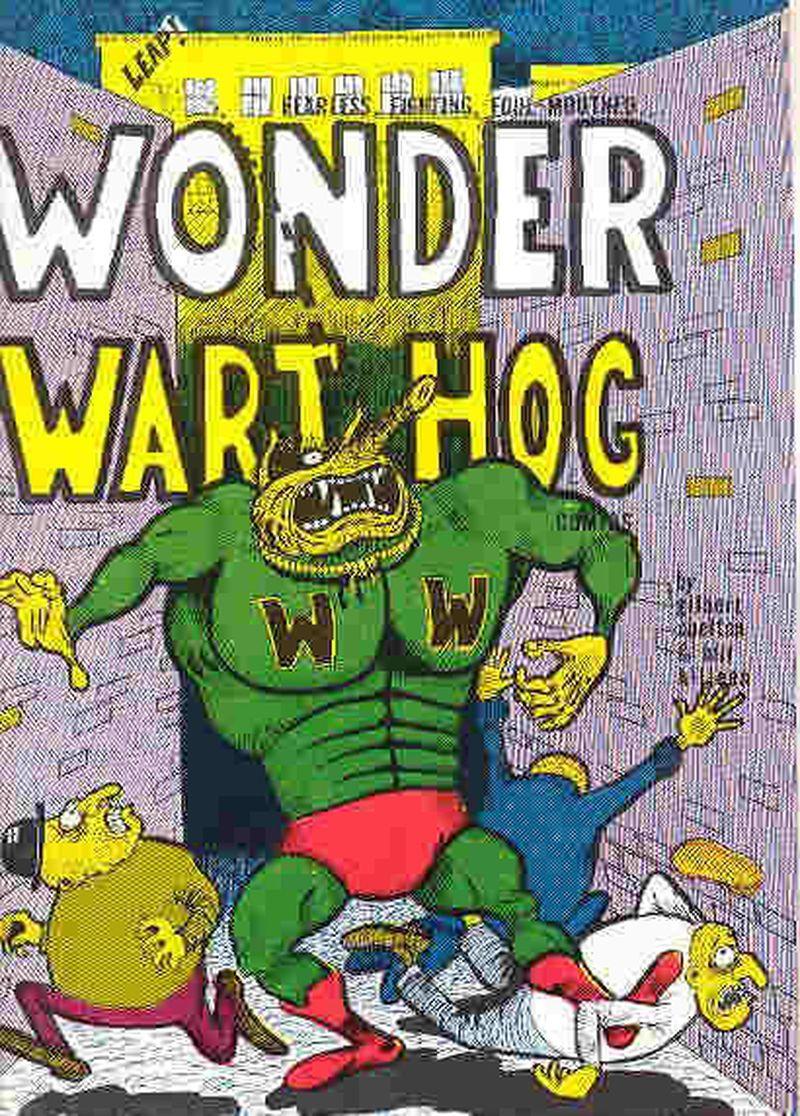 image: Wonder Wart-Hog. Gilbert Shelton by dinacomm