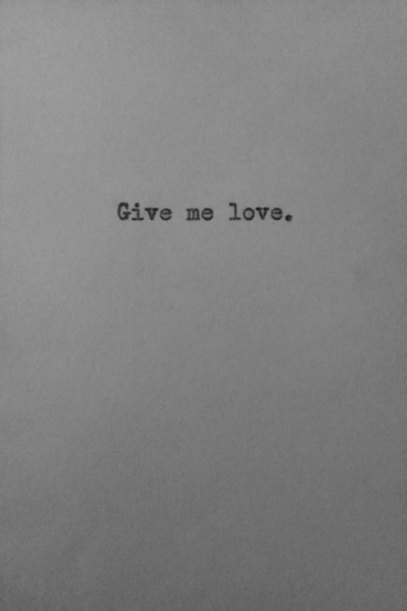 image: Give me love. by dsaltaren