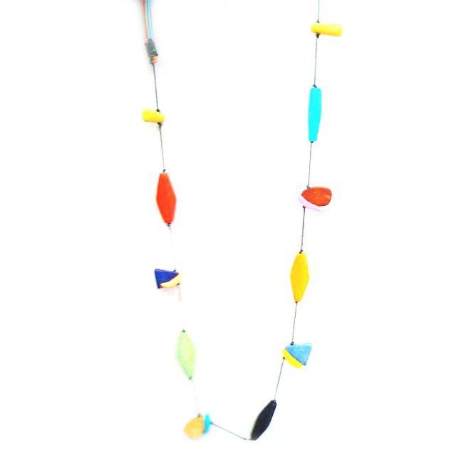image: Collar de cuentas de madera - TARA by IntermonOxfam