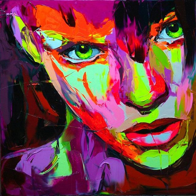 image: francoise nielly - fluor art by FERRANDIZ