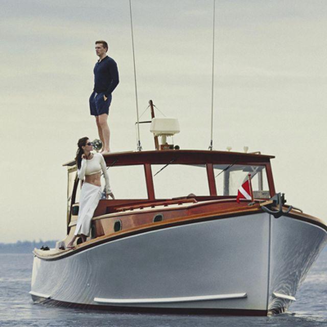 "image: VOGUE AUSTRALIA: Hilary Rhoda in ""Dream Boat"" by fashionnet"