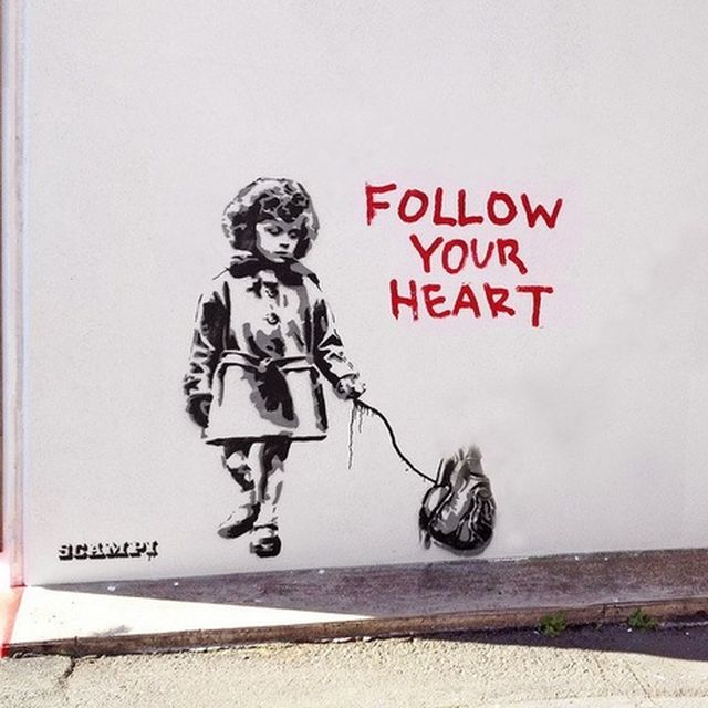 image: Follow your heart by martanicolas