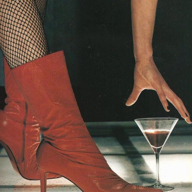 image: Tuesday night in red  by latenightinparis