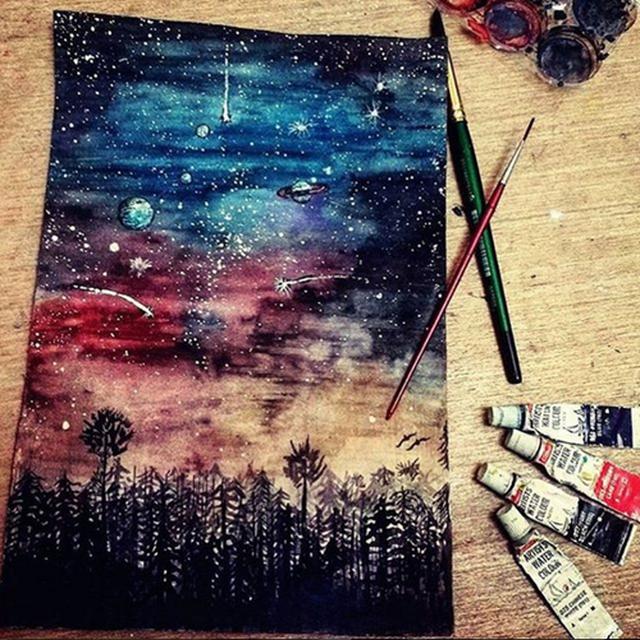 image: PAINTING STARS by art_seeker