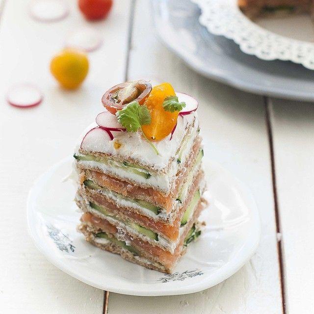 image: Riqusimo este #sandwich #cake de @sandwichthins_es by gastroandalusi