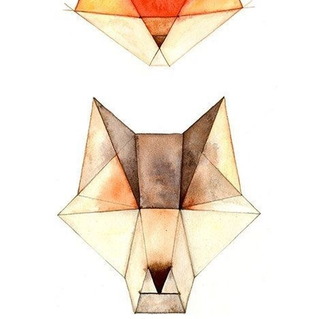 image: Geometrics animals by katherin