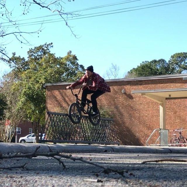 image: Rode my bike to school. @cultcrew @maderabmx @vansbmx66 @meserollshop by danfoley