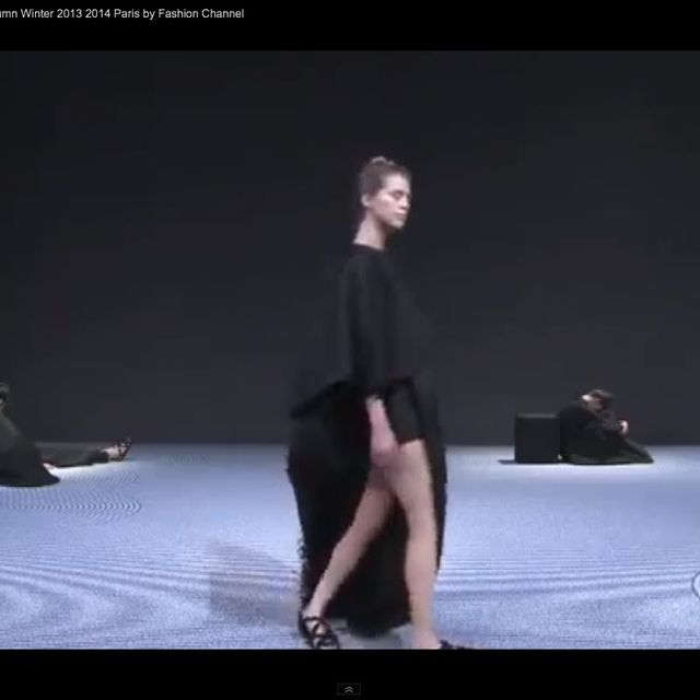 """video: """"VIKTOR & ROLF """" Haute Couture AW 2013 Paris by xellif"""