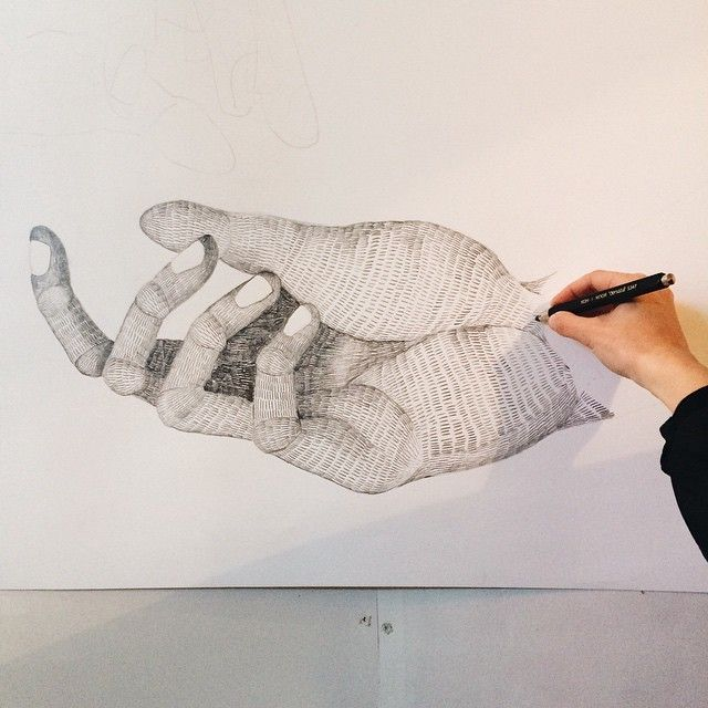 image: Big Hand #carlafuentes #illustration #littleisdrawin... by little_isdrawing