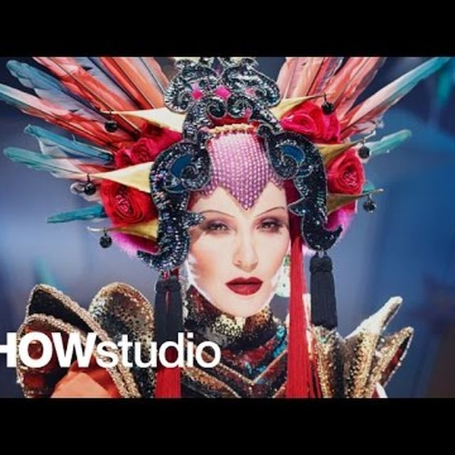 video: Evening In Space - Daphne Guinnes /David LaChapelle by icanteachyouhowtodoit