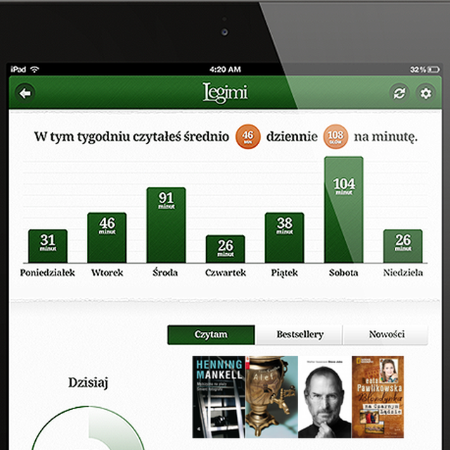 post: Legimi Wants To Be The 'Spotify For Ebooks' by james-the-creator