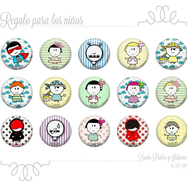 post: Regalos para invitadas Boda Pedro y Juliana by rite_rite