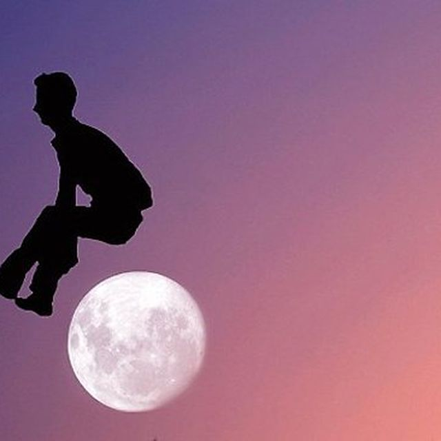 image: Man on the Moon by mindfultravelbysara