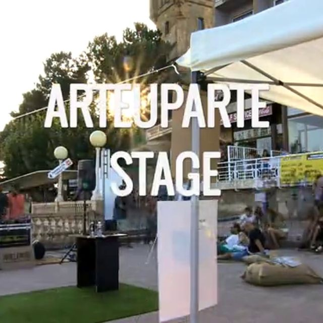 video: ARTEUPARTE STAGE: KUTXA KULTUR FESTIBALA 2014 by arteuparte